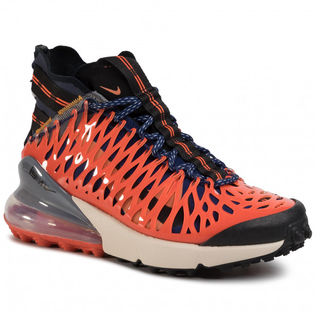 Buty NIKE - Air Max 270 Ispa BQ1918 400 Blue Void/Black/Terra Orange