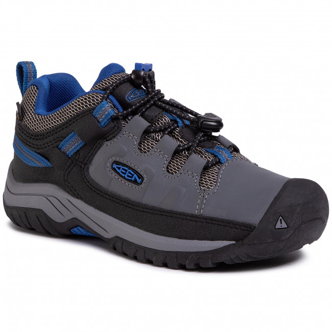 Trekkingi KEEN - Traghee Low Wp 1020192 Steel Grey/Baleine Blue