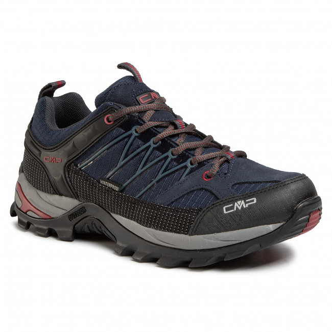Trekkingi CMP - Rigel Low Trekking Shoes Wp 3Q54457 Asphalt Syrah 62BN