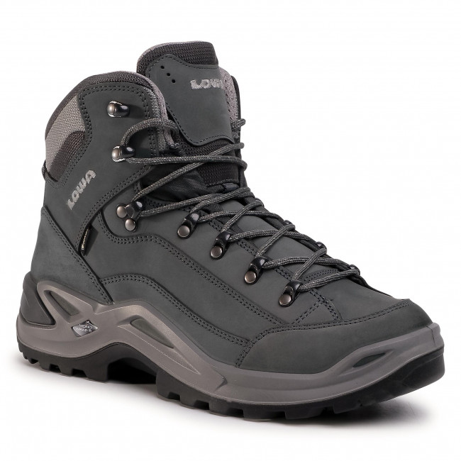 Trekkingi LOWA - Renegade Gtx Mid GORE-TEX 310945 Graphite/Light Grey 9726
