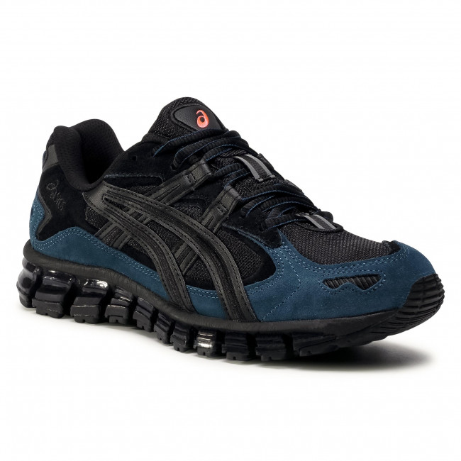 Sneakersy ASICS - Gel-Kayano 5 360 1021A160 Black/Magnetic Blue 002