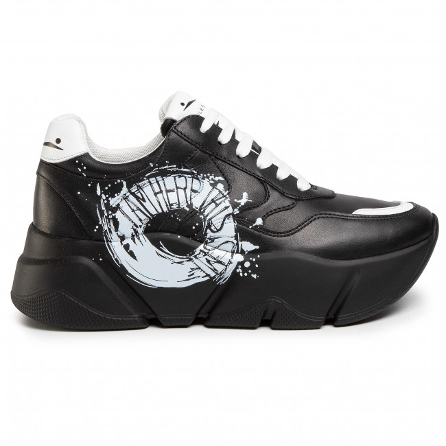 Sneakersy VOILE BLANCHE Monster Print 0012014710.01.1A06 Nero/St.Bianco Sneakersy Półbuty Damskie