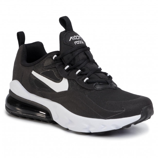 Buty NIKE - Air Max 270 React BQ0103 009 Black/White/Black
