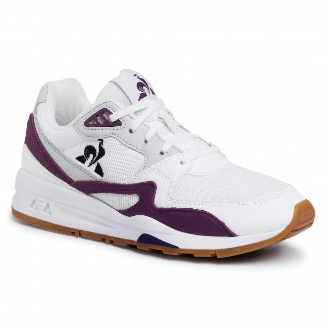 Sneakersy LE COQ SPORTIF - Lcs R800 2010260 Optical White/Deep Purple