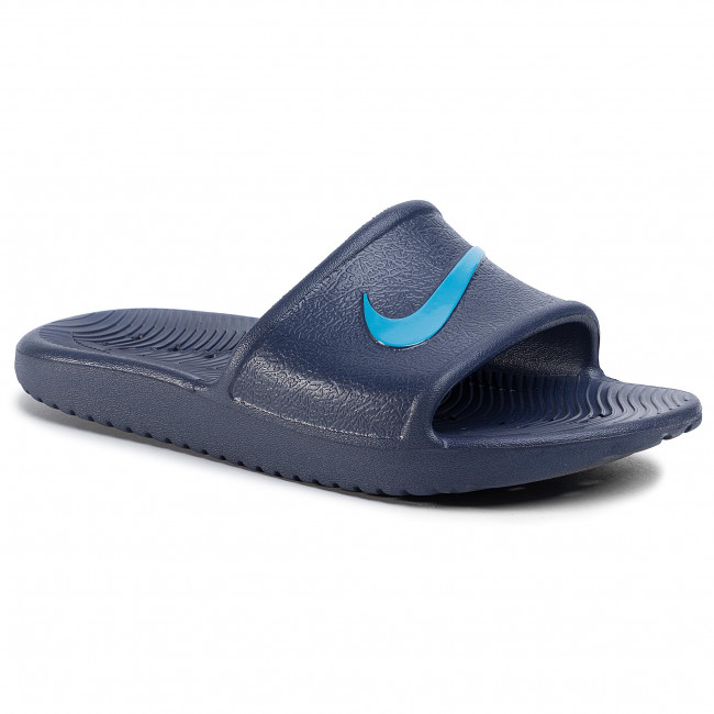 Klapki NIKE - Kawa Shower (GS/PS) BQ6831 402 Midnight Navy/Laser Blue