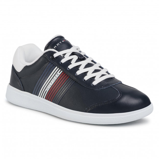 Sneakersy TOMMY HILFIGER - Essential Corporate Cupsole FM0FM02842 Desert Sky DW5