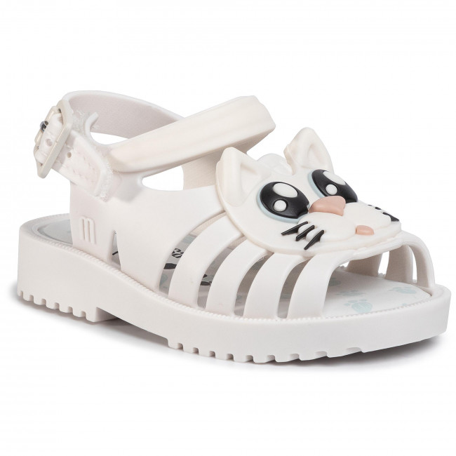 Sandały MELISSA - Francxs Cat Bb 32872  White/Black 50944