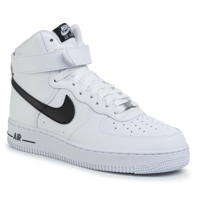 Buty NIKE - Air Force 1 High '07 An20 CK4369 100 White/Black