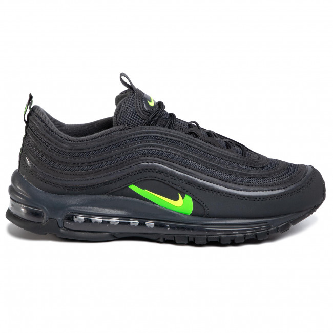 Official Images: Nike Air Max 97 Dark Grey Neon Green