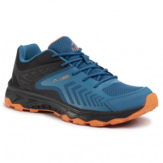 Trekkingi ELBRUS - Temore Black/Maroccan Blue/Orange
