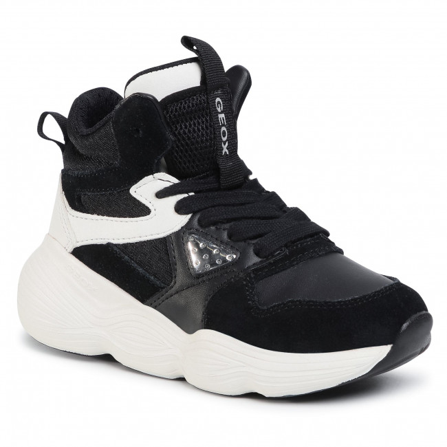 Sneakersy GEOX - J Bubblex G. A  J04CNA 05422 C0504 S Black/White