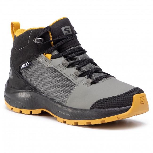 Trekkingi SALOMON - Outward Cswp J 409722 09 W0 Castor Gray/Black/Arrowwood