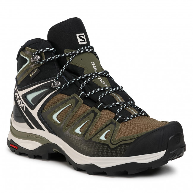 Trekkingi SALOMON - X Ultra 3 Mid Gtx W GORE-TEX 412380 20 W0 Olive Night/Black/Icy Morn