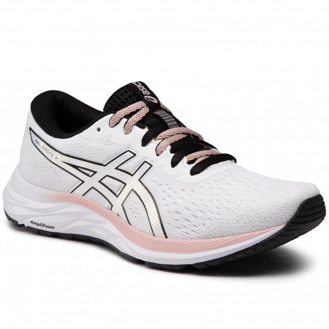 Buty ASICS - Gel-Excite 7 1012A840 White/Black 100