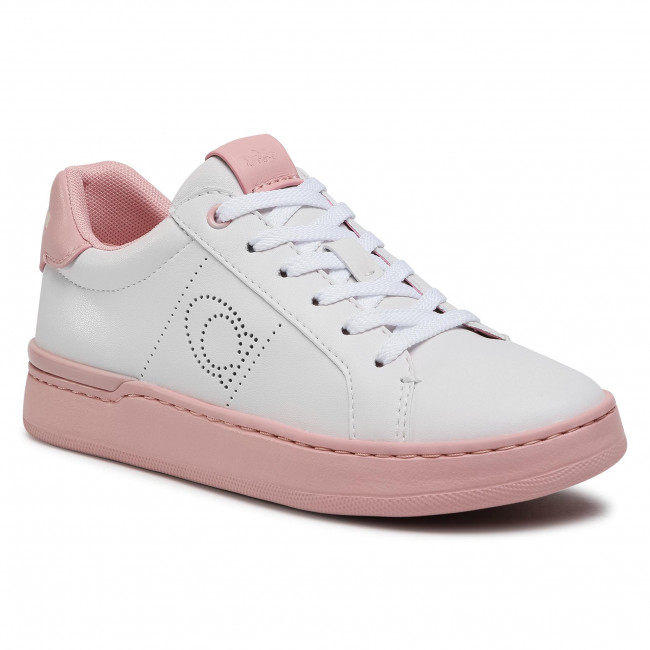 Sneakersy COACH - Lowline Ltr Low Top G5040 10011275 White/Aurora