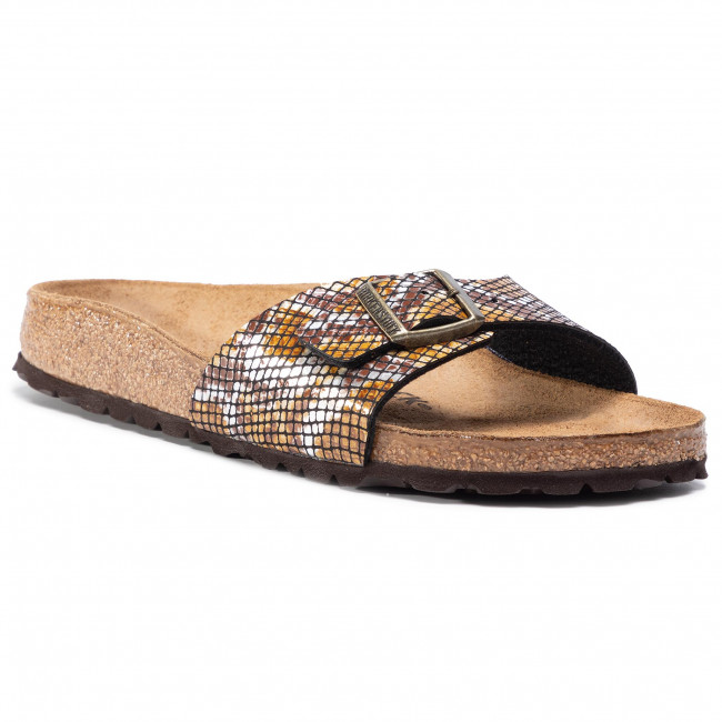 Klapki BIRKENSTOCK - Madrid BS 1016899 Python Brown