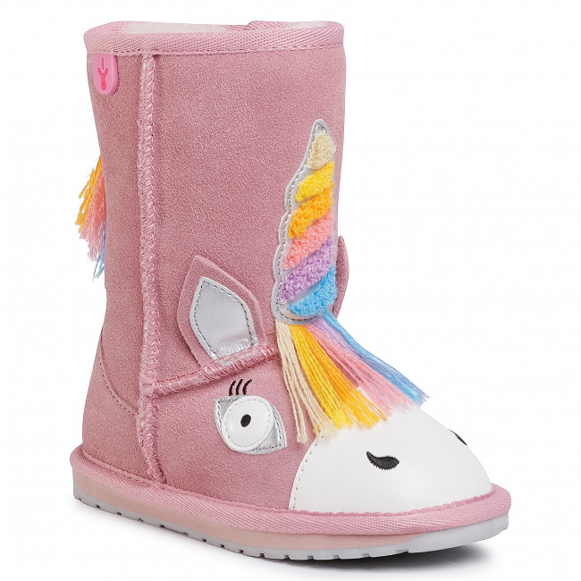 Buty EMU AUSTRALIA - Magical Unicorn K12408 Pale Pink