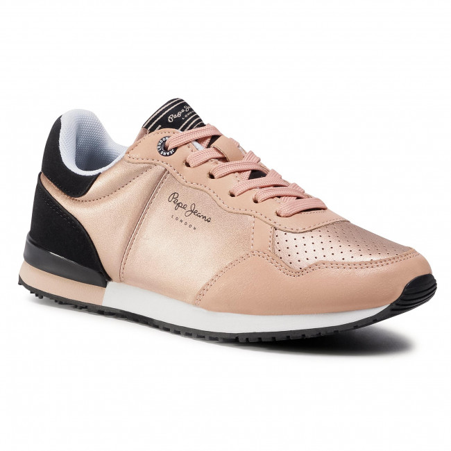 Sneakersy PEPE JEANS - Archie Noon PLS31101 Dark Peach 128