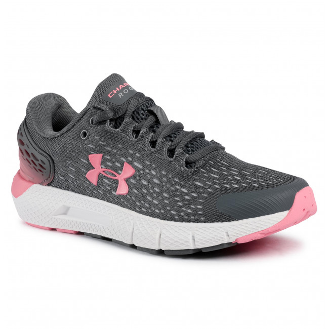 Buty UNDER ARMOUR - Ua W Charged Rogue 2 3022602-106 Grey