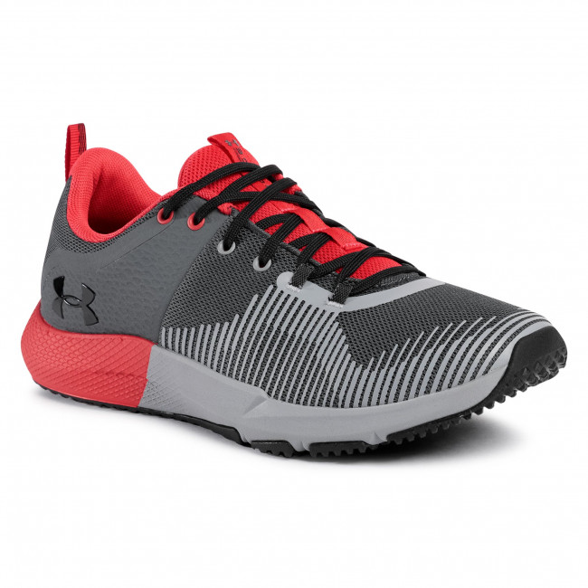 Buty UNDER ARMOUR - Ua Charged Engage 3022616-105 Gry