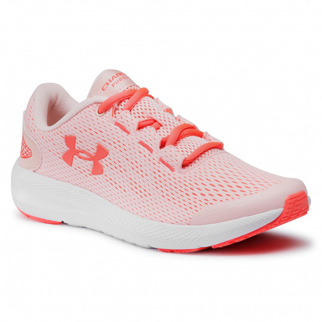 Buty UNDER ARMOUR - Ua Gs Charged Pursuit 2 3022860-603 Red