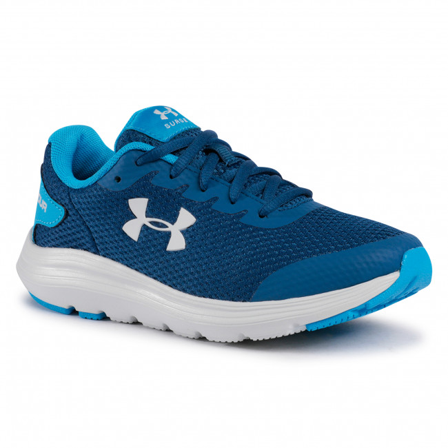 Buty UNDER ARMOUR - Gs Surge 2 3022870-403 Blu