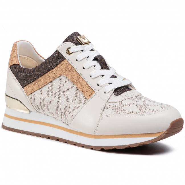 Sneakersy MICHAEL MICHAEL KORS - Billie Trainer 43T0BIFS1B Cream Multi 725
