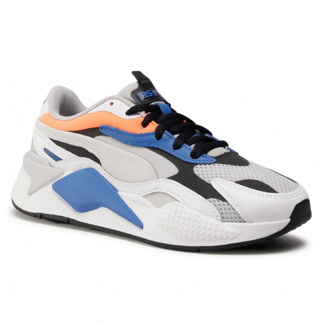 Sneakersy PUMA - RS-X³ Prism 374758 03 G Violet/Pwhite/Ultra Orange