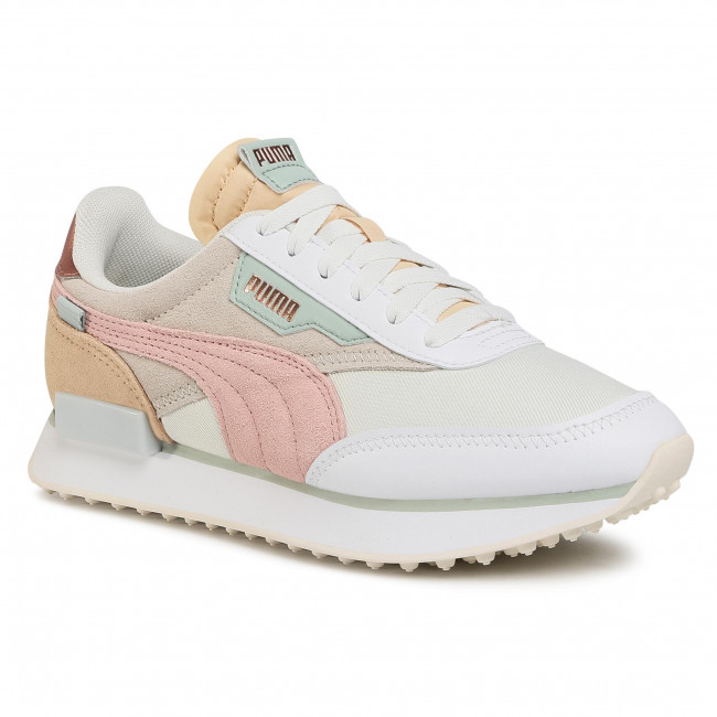 Sneakersy PUMA - Future Rider Soft Metal 374665 02 Marshmallow/Natural Vachetta