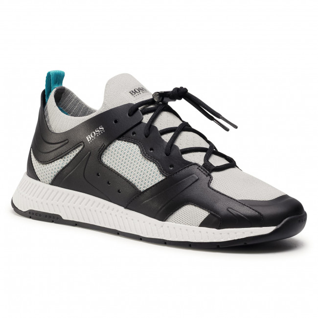 Sneakersy BOSS - Titanium 50432770 10227343 01  Charcoal 019