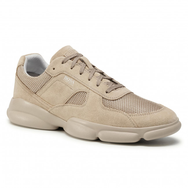 Sneakersy BOSS - Rapid 50432847 10214574 01 Beige/Khaki 250
