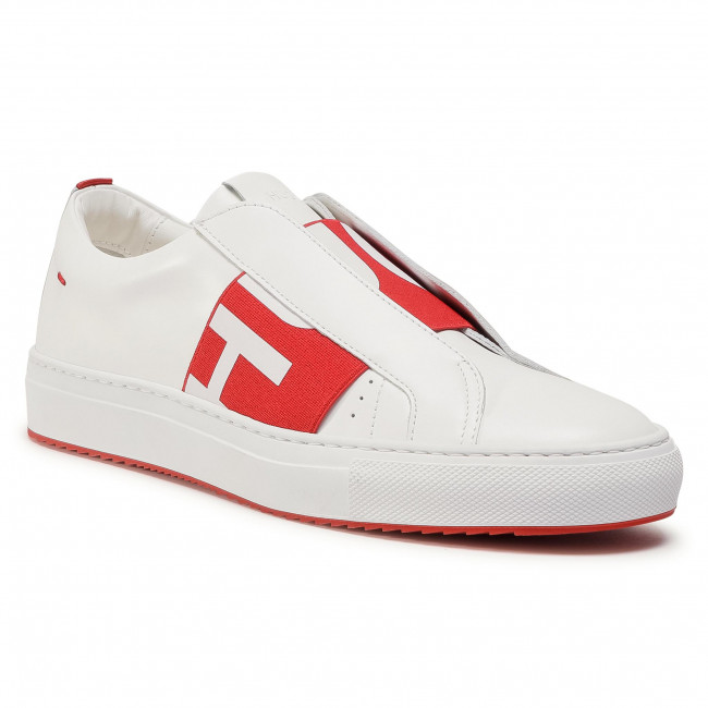Sneakersy HUGO - Futurism Low Cut 50435384 10201909 01 Bright Red 628