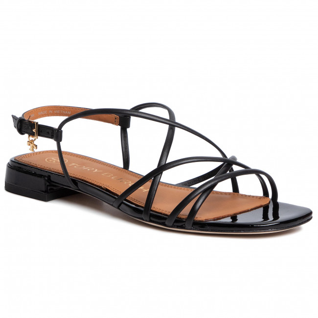 Sandały TORY BURCH - Penelope 15Mm Sandal 74012 Perfect Black/Perfect Black 004