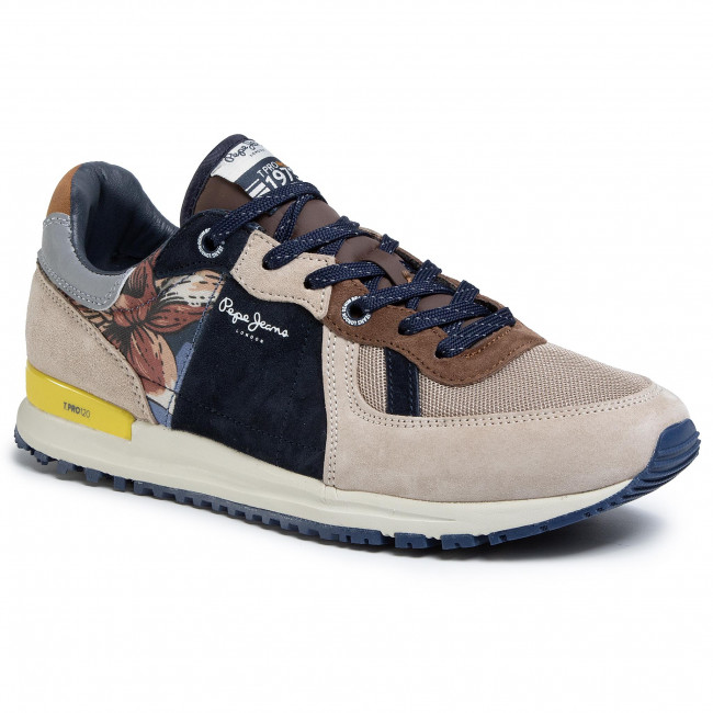 Sneakersy PEPE JEANS - Tinker Pro PMS30618 Stone 836
