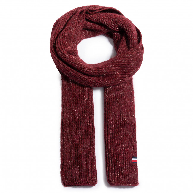 Szal TOMMY HILFIGER - Th Effortless Scarf AW0AW09051 VLP