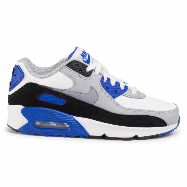 Buty NIKE Air Max 90 Ltr (Gs) CD6864 103 WhiteParticle Grey