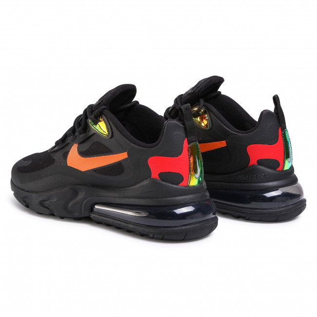 Buty NIKE Air Max 270 React CV1641 001 BlackMagma Orange