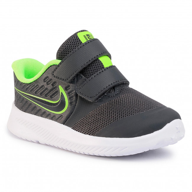 Buty NIKE - Star Runner 2 (Tdv) AT1803 004 Anthracite/Electric Green
