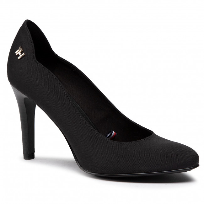 Szpilki TOMMY HILFIGER - Essential High Heel Pump FW0FW05136 Black BDS