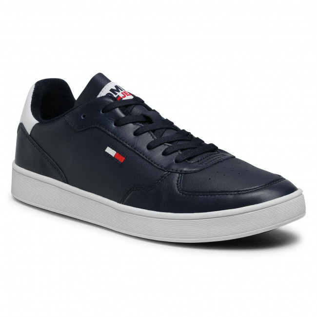 Sneakersy TOMMY JEANS - Tommy Jeans Essential Cupsole EM0EM00573 C87