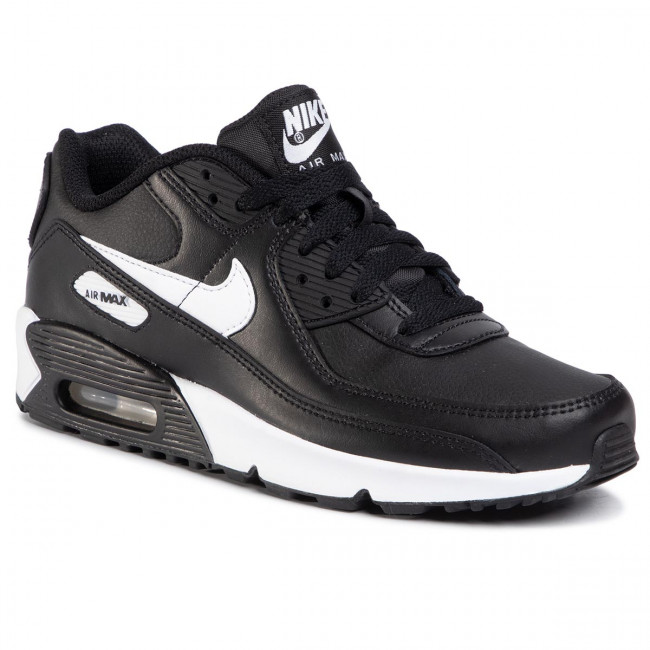 Buty NIKE - Air Max 90 Ltr (GS) CD6864 010 Black/White/Black