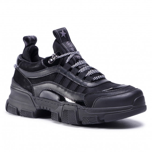 Sneakersy WRANGLER - Trax Low WL02670A Black 062