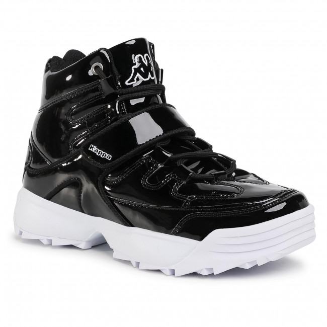 Sneakersy KAPPA - Tegno Hi Gc 242912GC Black/White 1110