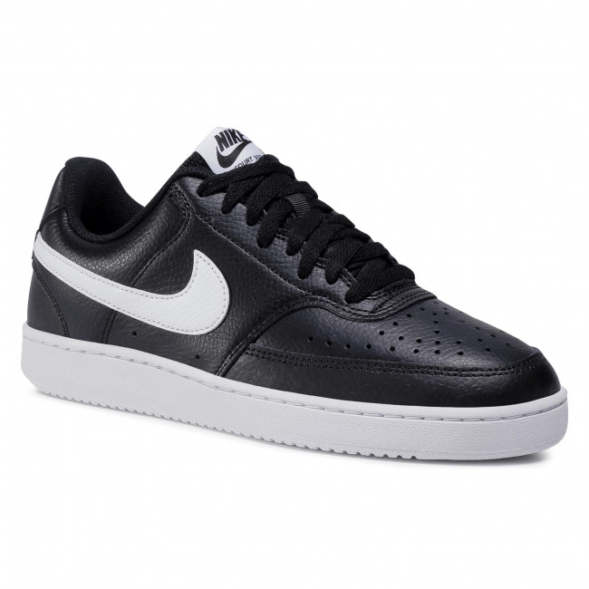 Buty NIKE - Court Vision Low CD5434 001 Black/White