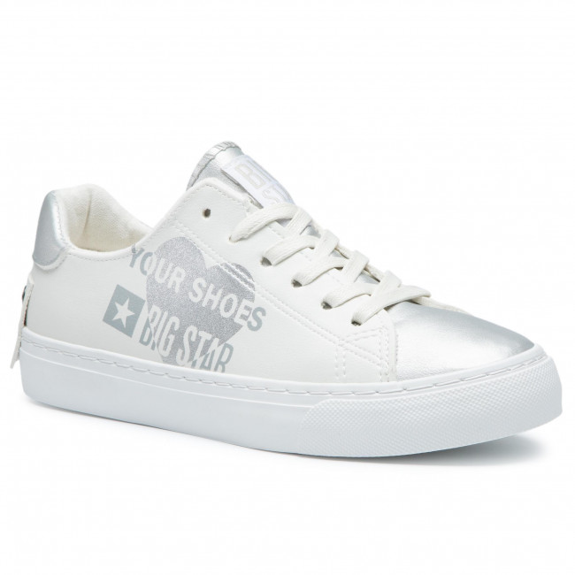 Sneakersy BIG STAR - EE274241 White/Silver