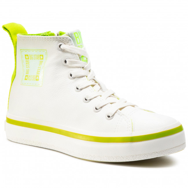 Sneakersy BIG STAR - GG274080  White/Green