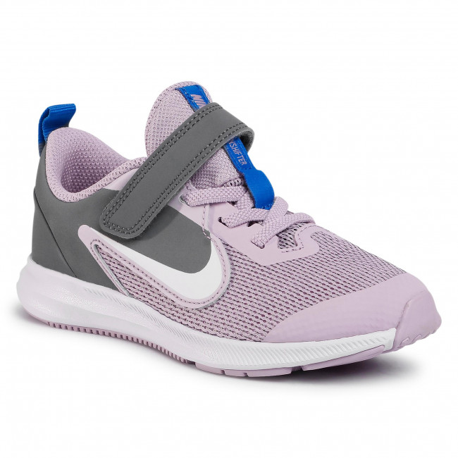 Buty NIKE - Downshifter 9 (Psv) AR4138 510 Iced Lilac/White/Smoke Grey