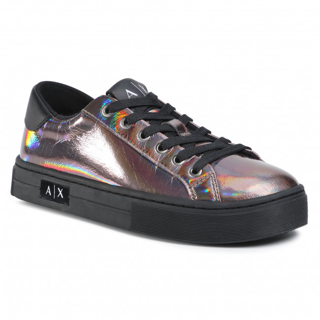 Sneakersy ARMANI EXCHANGE - XDX027 XV327 00007 Gunmetal