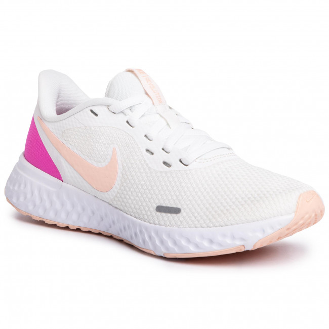 Buty NIKE - Revolution 5 BQ3207 103 Summit White/Washed Coral