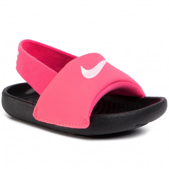 Sandały NIKE - Kawa Slide (TD) BV1094 610 Digital Pink/White/Black